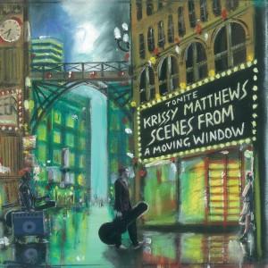 Album art from Krissy Matthews new album