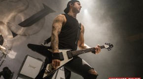 Bullet For My Valentine and guests wake the demon in York!