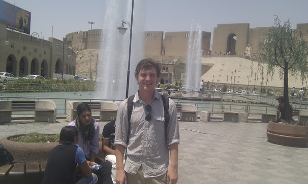 Me safe and well in Erbil
