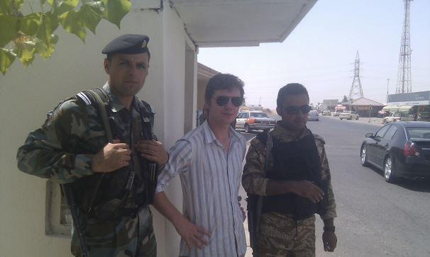 Me with Kurdish Peshmerga