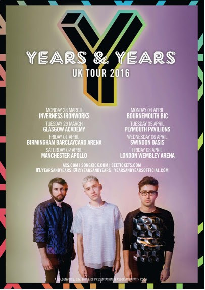 Y&Y Tour Poster