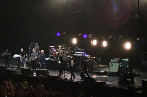 These days Tim Booth is bald and so is his audience