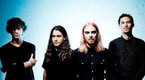 Pulled Apart By Horses – The Haze      shouts, trashes and twists its way into the run-out grooves with one guitar screaming and the other crunching riffs.
