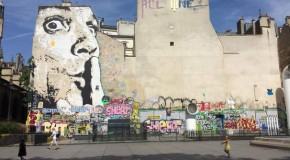 Parisian street art in the age of Macron