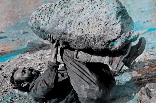 Traumatic memories are the subject of Forest Swords electronic mash up