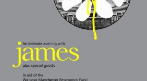 James to play benefit concert in Manchester in December