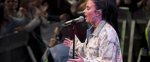 Demi Lovato @Newmarket Races\ Tell Me You Love Me Tour