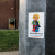 Donald Trump sticker, just off Old Street, London
