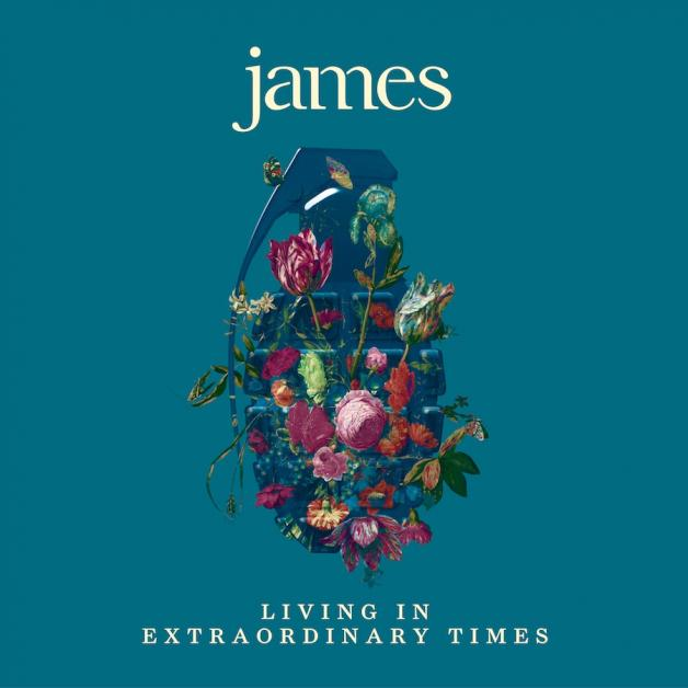 James-Living In Extraordinary Times Album Cover