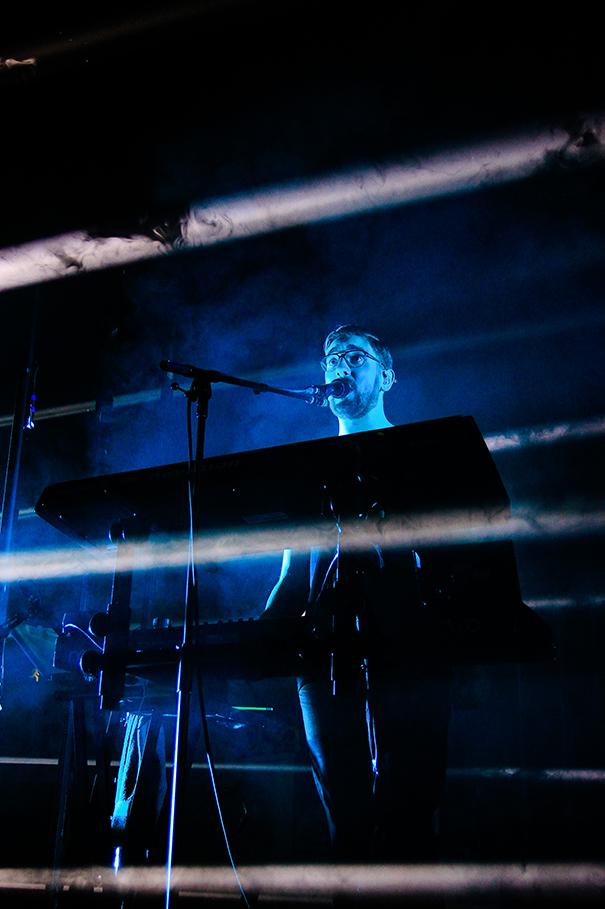 Keyboardist alt J Leeds Town Hall 1