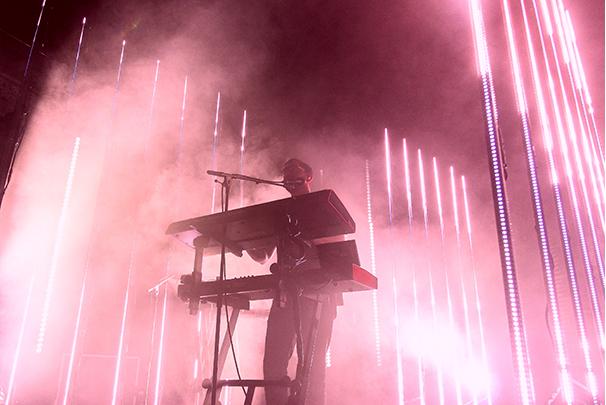 Keyboardist alt J Leeds Town Hall