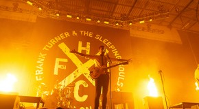 Frank Turner Kills it at Leeds First Direct Arena – support from Jimmy Eat World