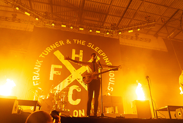 Frank Turner and the Sleeping Souls Leeds First Diect Arena