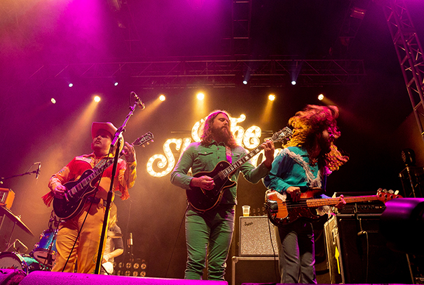 The Sheepdogs supporting Rival Sons Leeds O2 Academy 4th February 2019 4