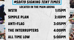 SLAM DUNK Announce Second Signing Tent