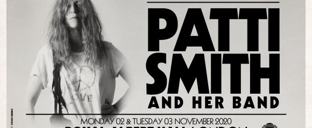 PATTI SMITH announces only UK shows for 2020